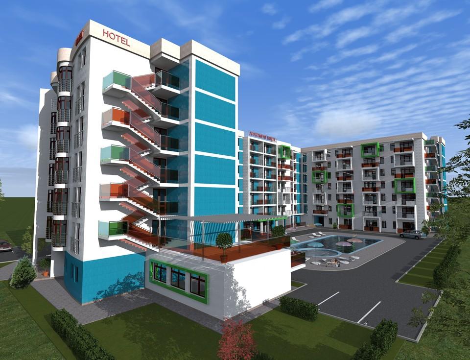 Апартамент-отель «Колорит», ракурс 1